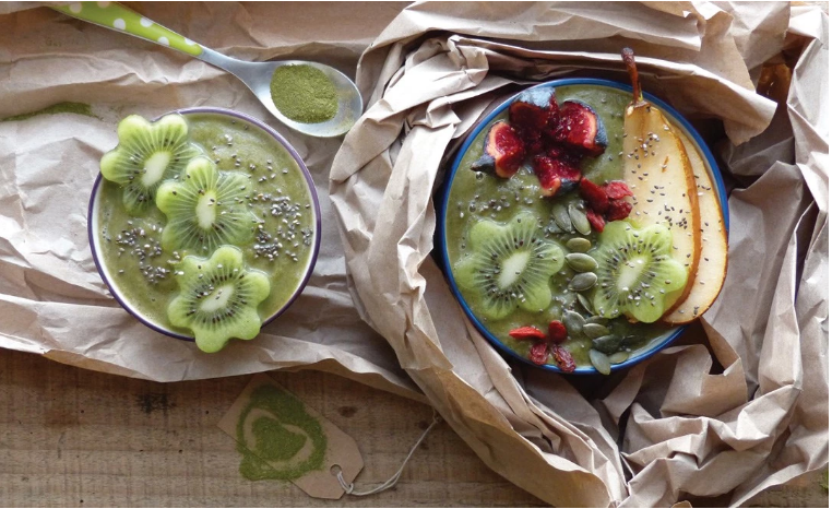 smoothie bowl moringa LT Labo
